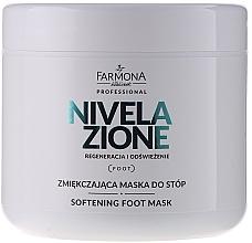 Parfüm, Parfüméria, kozmetikum Lábpuhító maszk - Farmona Nivelazione Softening Foot Mask