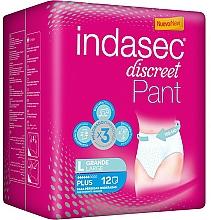 Parfüm, Parfüméria, kozmetikum Tisztasági betét, 12 db - Indasec Discreet Pant Plus