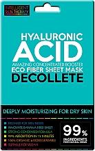 Parfüm, Parfüméria, kozmetikum Express maszk dekoltázsra - Beauty Face IST Extremely Moisturizing Decolette Mask Hyaluronic Acid