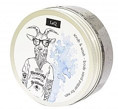 Parfüm, Parfüméria, kozmetikum Testradír férfiaknak - LaQ Body Scrub&Wash Body Sand Paper For Men