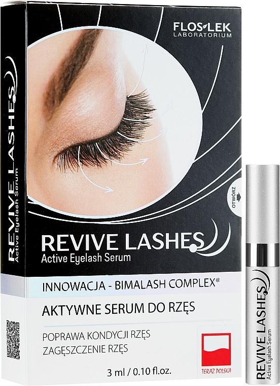 Szempilla erősítő szérum - Floslek Revive Lashes Eyelash Enhancing Serum