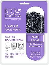 """Parfüm, Parfüméria, kozmetikum Maszk """"Aktív táplálás"""" fekete kaviárral - Biologica Caviar"""