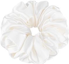 """Parfüm, Parfüméria, kozmetikum Hajgumi természetes selyemből, tejszín """"Largy"""" - Makeup Largy Scrunchie Milk"""