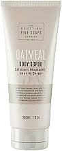 Parfüm, Parfüméria, kozmetikum Testradír - Scottish Fine Soaps Oatmeal Body Scrub