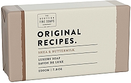 "Parfüm, Parfüméria, kozmetikum Szappan ""Shea & Buttermilk"" - Scottish Fine Soaps Original Recipes Shea & Buttermilk Luxury Soap Bar"