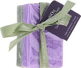 """Parfüm, Parfüméria, kozmetikum Szett """"Olíva és jázmin"""" - Le Chatelard 1802 Olive & Jasmin (soap/100g + soap/100g)"""