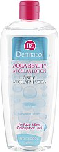 Parfüm, Parfüméria, kozmetikum Micellás víz fiatal bőrre - Dermacol Aqua Beauty Micellar Lotion