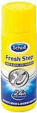 Parfüm, Parfüméria, kozmetikum Púder dezodor lábra - Scholl Fresh Step Foot & Shoe 2 in 1 Powder