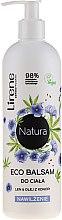 """Parfüm, Parfüméria, kozmetikum Hidratáló balzsam testre """"Len- és kenderolaj"""" - Lirene Natura Eco Balm"""