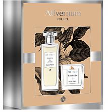 Parfüm, Parfüméria, kozmetikum Allvernum Coffee & Amber - Szett (edp/50ml + candle/100g)