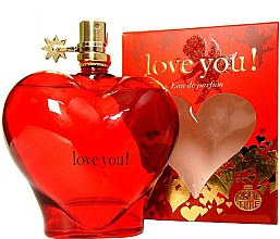 Parfüm, Parfüméria, kozmetikum Real Time Love You! Red - Eau De Parfum