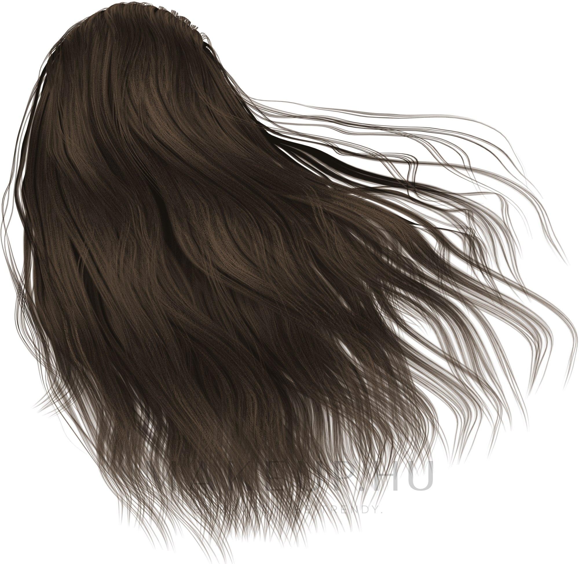 Hab hajfesték - Schwarzkopf Perfect Mousse — fotó 500 - Közép gesztenye