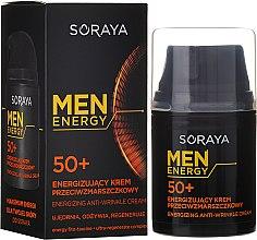 Parfüm, Parfüméria, kozmetikum Ránctalanító krém, táplálás és regenerálás 50+ - Soraya Men Energy