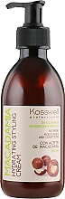 Parfüm, Parfüméria, kozmetikum Hajformázó krém - Kosswell Professional Macadamia Hydrating Styling Cream