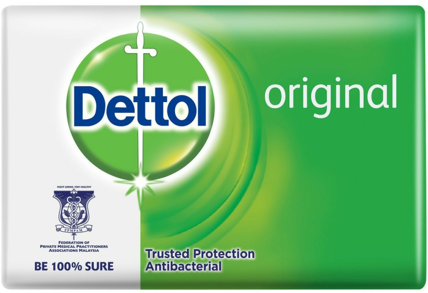 Antibakteriális szappan fenyő illattal - Dettol Anti-bacterial Original Bar Soap
