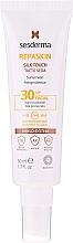 Parfüm, Parfüméria, kozmetikum Napvédő arckrém - SesDerma Laboratories Repaskin Silk Touch SPF30