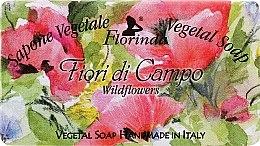 """Parfüm, Parfüméria, kozmetikum Természetes szappan """"Réti virágok"""" - Florinda Sapone Vegetale Vegetal Soap Wild Flowers"""