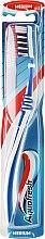 Parfüm, Parfüméria, kozmetikum Fogkefe, félkemény, fehér-kék - Aquafresh Clean Deep Medium