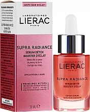 Parfüm, Parfüméria, kozmetikum Ragyogást elősegítő arcszérum - Lierac Supra Radiance Detox Serum Radiance Booster