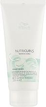 Parfüm, Parfüméria, kozmetikum Kondicionáló hullámos hajra - Wella Professionals Nutricurls Lightweicht Conditioner