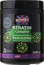 Parfüm, Parfüméria, kozmetikum Hajmaszk - Ronney Keratin Complex Rebuilding Therapy Mask