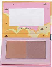 Parfüm, Parfüméria, kozmetikum Bronzosító - Moira Golden Rays Bronzed Goddess Duo