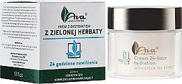 """Parfüm, Parfüméria, kozmetikum Krém zöld tea kivonattal """"24 óra hidratálás"""" - Ava Laboratorium Green Tea Intensively Moisturizing Cream"""
