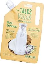 Parfüm, Parfüméria, kozmetikum Éjszakai hámlasztó maszk - Missha Talks Vegan Squeeze Pocket Sleeping Mask Mega Nutritious