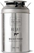 Parfüm, Parfüméria, kozmetikum Tejes fürdőpor - Scottish Fine Soaps Au Lait Milk Bath Powder
