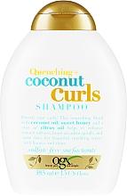 Parfüm, Parfüméria, kozmetikum Sampon hullámos hajra - OGX Coconut Curls Shampoo