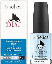 Parfüm, Parfüméria, kozmetikum Körömlakk törékeny és repedezett körmökre - Kinetics Nano Seal Nail Treatment