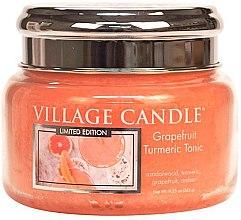 Parfüm, Parfüméria, kozmetikum Aroma gyertya - Village Candle Grapefruit Turmeric Tonic Glass Jar