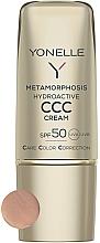 Parfüm, Parfüméria, kozmetikum Mattító arckrém SPF50 - Yonelle Metamorphosis Hydroactive CCC Cream SPF50