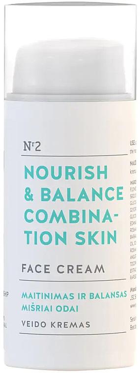 "Arckrém ""Táplálás és egyensúly"" - You & Oil Nourish & Balance Combination Skin Face Cream"