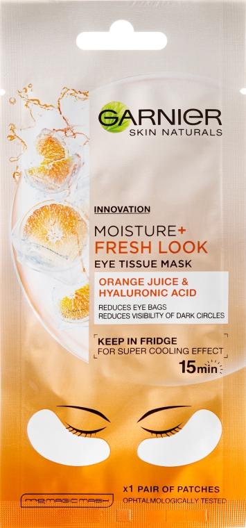 Szemkörnyékápoló maszk - Garnier Skin Naturals Moisture+ Fresh Look