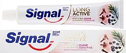 Parfüm, Parfüméria, kozmetikum Fogkrém - Signal Long Active Nature Elements Clove Sensitive