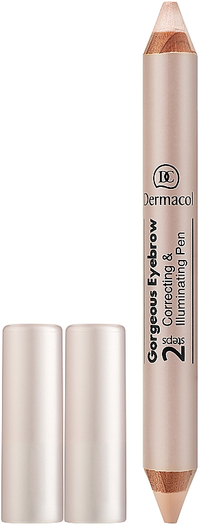 Szemöldök korrektor-ceruza - Dermacol Gorgeous Eyebrow Correcting Illuminating Pen