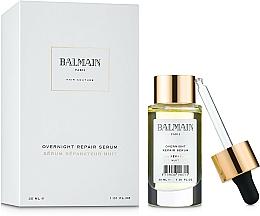 Parfüm, Parfüméria, kozmetikum Helyreállító hajszérum - Balmain Paris Hair Couture Overnight Repair Serum