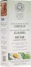 Parfüm, Parfüméria, kozmetikum Testszőrzet világosító folyadék kamilla kivonattal - Intea Body Hair Lightening Spray With Natural Camomile Extract