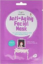 Parfüm, Parfüméria, kozmetikum Öregedésgátló szövetmaszk - Cettua Anti-Aging Facial Mask