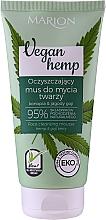 Parfüm, Parfüméria, kozmetikum Arctisztító mousse - Marion Vegan Hemp Hemp & Goji Face Cleansing Mousse
