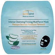 Parfüm, Parfüméria, kozmetikum Detoxikáló iszapos arcpakolás - SeeSee Intense Cleansing Firming Mud Facial Mask