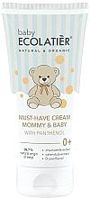 Parfüm, Parfüméria, kozmetikum Univerzális krém mamának és babának D-panthenollal - Ecolatier Baby