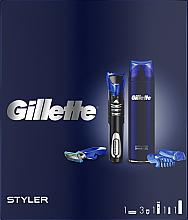 Parfüm, Parfüméria, kozmetikum Szett - Gillette Fusion 5 (sh/gel/200ml + razor/styler)