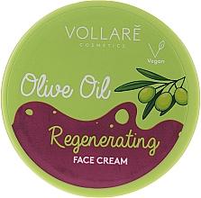 Parfüm, Parfüméria, kozmetikum Arckrém olivaolajjal - Vollare Regenerating Olive Oil Face Cream