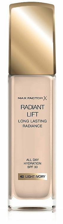 Sminkalap - Max Factor Radiant Lift Foundation