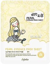 Parfüm, Parfüméria, kozmetikum Szövetmaszk gyönggyel - Esfolio Essence Mask Sheet