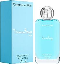 Parfüm, Parfüméria, kozmetikum Christopher Dark Dominikana Blue - Eau De Parfum