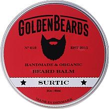 "Parfüm, Parfüméria, kozmetikum Balzsam szakállra ""Surtic"" - Golden Beards Beard Balm"