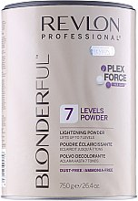 Parfüm, Parfüméria, kozmetikum Szőkítő por - Revlon Professional Blonderful 7 Levels Lightening Powder